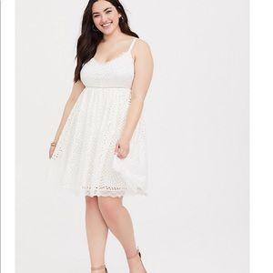 Torrid lace dress